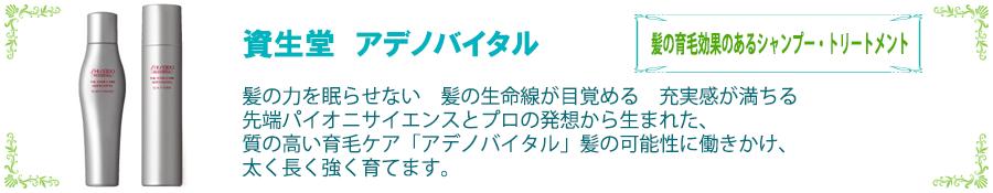 資生堂 アデノバイタル