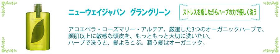 ニューウェイジャパン グラングリーン